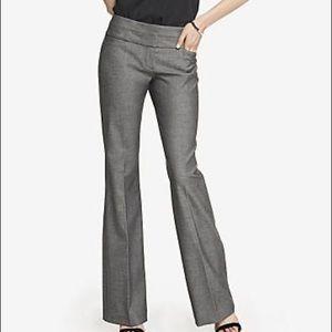 Express Editor grey work career dress pants